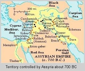 assyrianempiremap