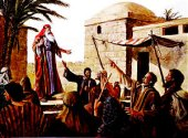 Jeremiah pleads with thepeople in Jerusalem