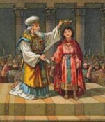 8 year old Josiah becomes King of Judah