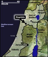 Josiah dies at Megiddo