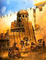 Babylonian siege engine